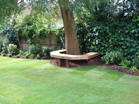 celebrity garden design london
